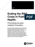 Ending the R&D Crisis in Public Health