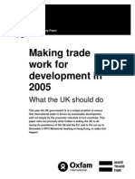 Making Trade Work for Development in 2005