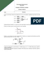 Prova Eletronica Analogica-2010-1