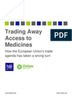 Trading Away Access to Medicines