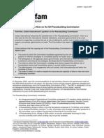 UN Peacebuilding Commission