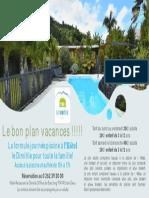 Visuel Journee Piscine Vacances Octobre 2021 Hotel Dimitile