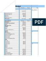Copy of budget and cash flow calender
