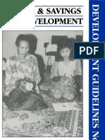 Credit & Savings for Development