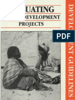 Evaluating Social Development Projects