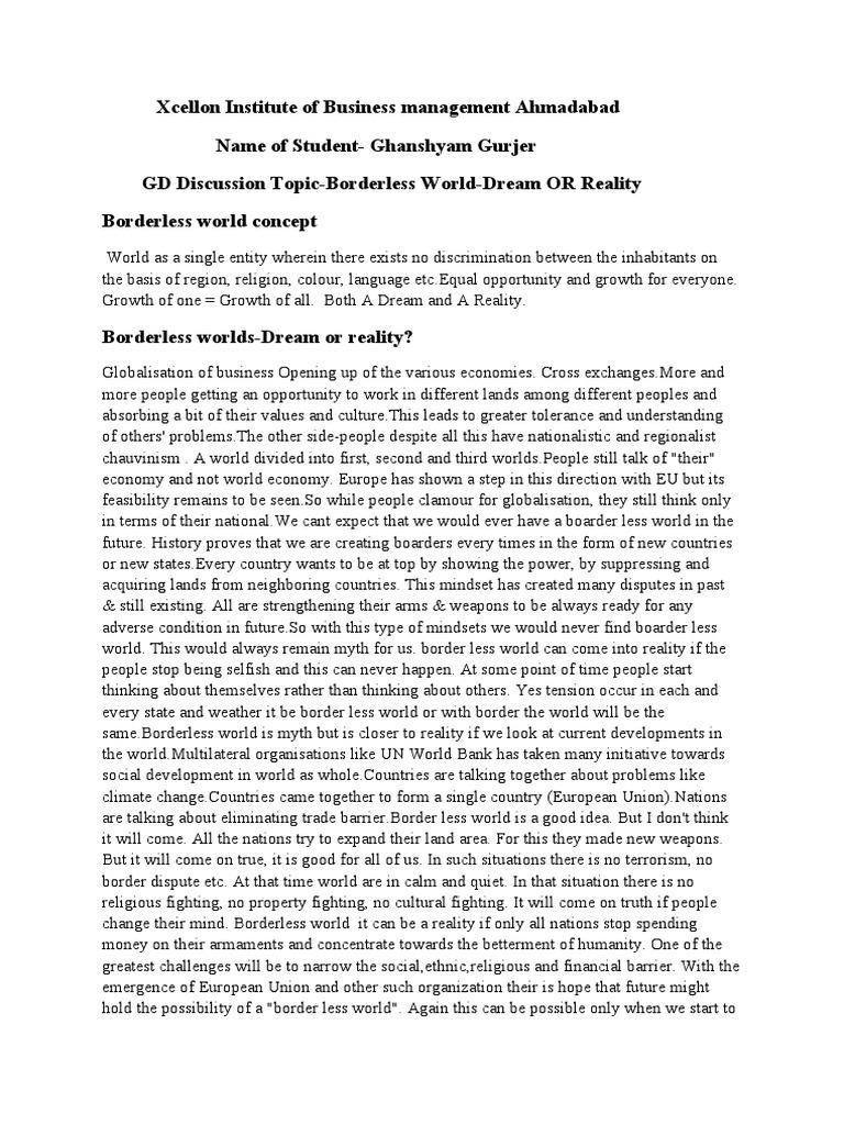 Borderless Worlds 1521636456?vu003d1 Borderless Worlds Business Management  Essay Topics Religious Business Management Essay Topics Religious