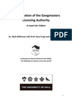 An Evaluation of the Gangmasters Licensing Authority