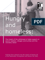 Hungry and Homeless