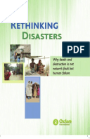 Rethinking Disasters: Why death and destruction is not natures fault but human failure