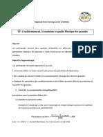 FICHE de TP Conditionnement, granulation et qualité Physique (3)