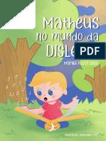 E-book Matheus No Mundo Da Dislexia 2020