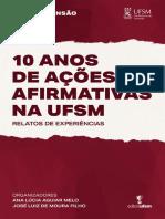 E-book - 10 Anos de Ações Afirmativas - PRE - Ed UFSM