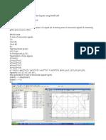 sum of sine signals using matlab