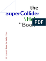SuperCollider HelpBook