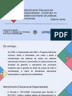 Slides AEE_ Construtor No Desenvolvimento de Práticas Inclusivas (1)