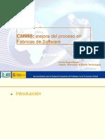 MODELO CMMI - CATEGORIAS Y AREAS DE PROCESO.