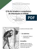 O fio de Ariadne e a arquiteturaII