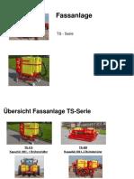 Fassanlage TS Serie Produktinfo