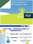 myaiesec.net walkthrough focusing on ICX