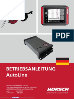 Horsch Autoline Betriebsanleitung