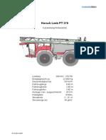 Horsch Leeb PT 270 Betriebsanleitung