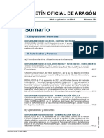 Boletín Oficial de Aragón 29.09