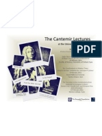 Cantemir Lectures 2011 - Moshe Idel - Poster_2