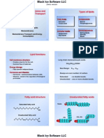 9 Lipids, Biological Membranes and