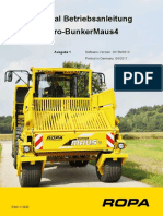 Rpoa Bunkermaus 4 Betriebsanleitung