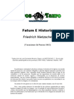 Nietzsche, Friedrich - Fatum E Historia