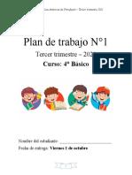 Plan N° 1 4° básico Tercer trimestre (1)
