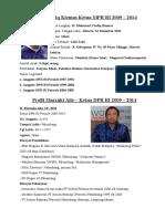 Profil pimpinan lembaga pemerintahan