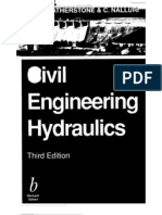 Civil engineering hydraulics- Essential theory with worked examples 3rd Edition