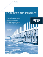 Longevity and Pensions - Protecting Company Pensions Against Longevity Risk