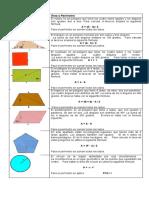 formulas de areas y perimetros