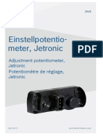 Einstellpotentiometer Ke-jetronic 2017