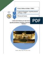 Apostila História Estrut e Func Da Pm Cfsd 2021 - Pós Edição