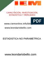 Pruebas-No-Parametricas