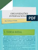 aula 10 - ORGANIZAÇÕES INTERNACIONAIS
