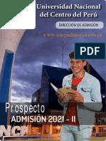 Prospecto Admisión 2021-2