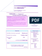 Dreams 1st Issue