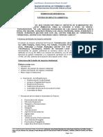 Tdr - Estudio Impacto Ambiental a Nivel de Perfil - Vereda