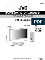 JVC PD35D30ES Diagrama Plasma
