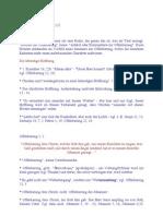 Notizen zur Offenbarung (1)
