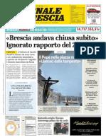 Giornale Di Brescia 28 Marzo 2020