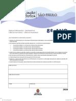 Avaliação Diagnóstica 8º Ano 2020 - 9º Ano 2021