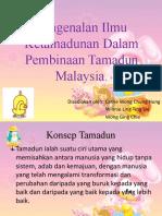 1.Pengenalan Ilmu Ketamadunan Dalam Pembinaan Tamadun Malaysia