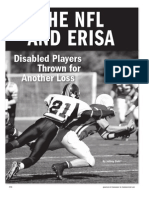 Jeffrey Dahl NFL and ERISA