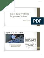 Clase Redes de Apoyo social