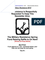 Military Resistance  9D 10